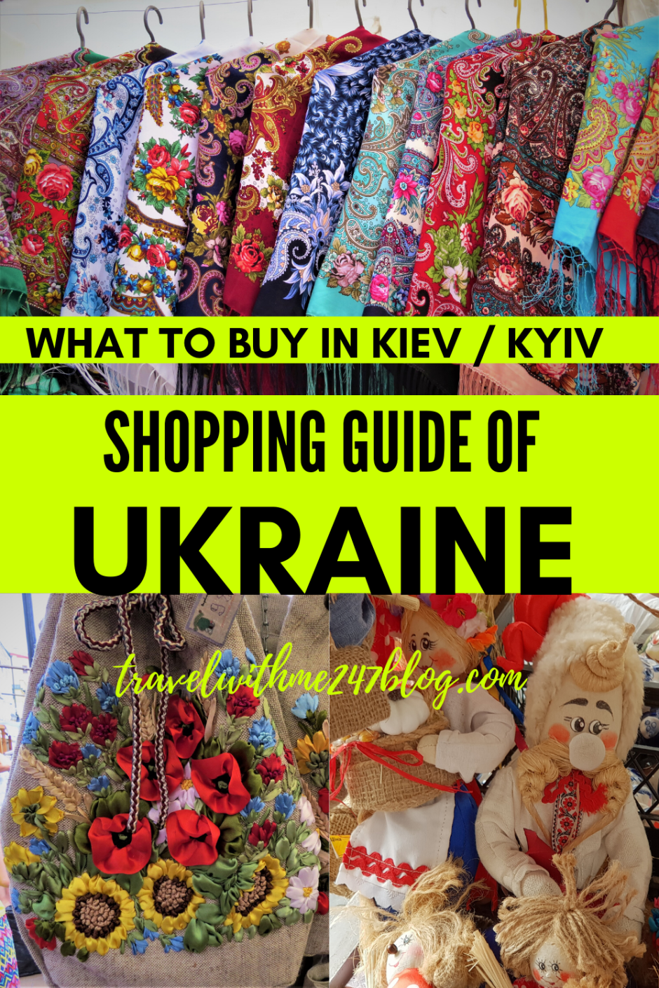 Shopping guide of Kiev, Ukraine