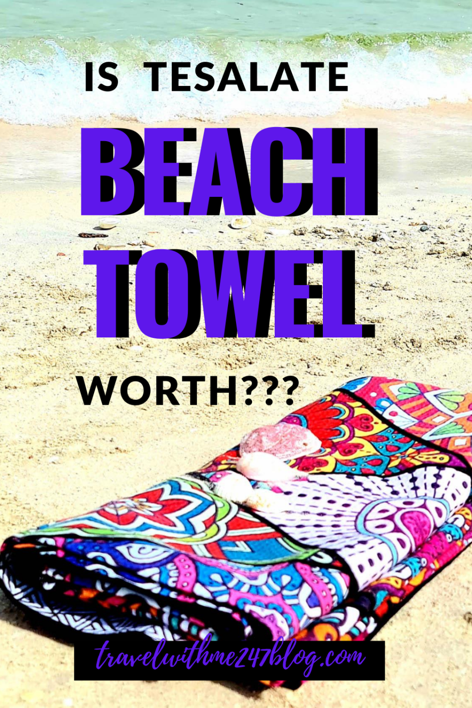 review of Tesalata Beach Towel