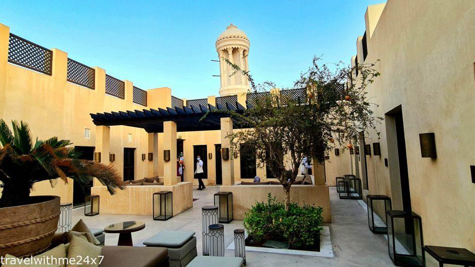 Chedi Al Bait Sharjah's famous photogenic spot