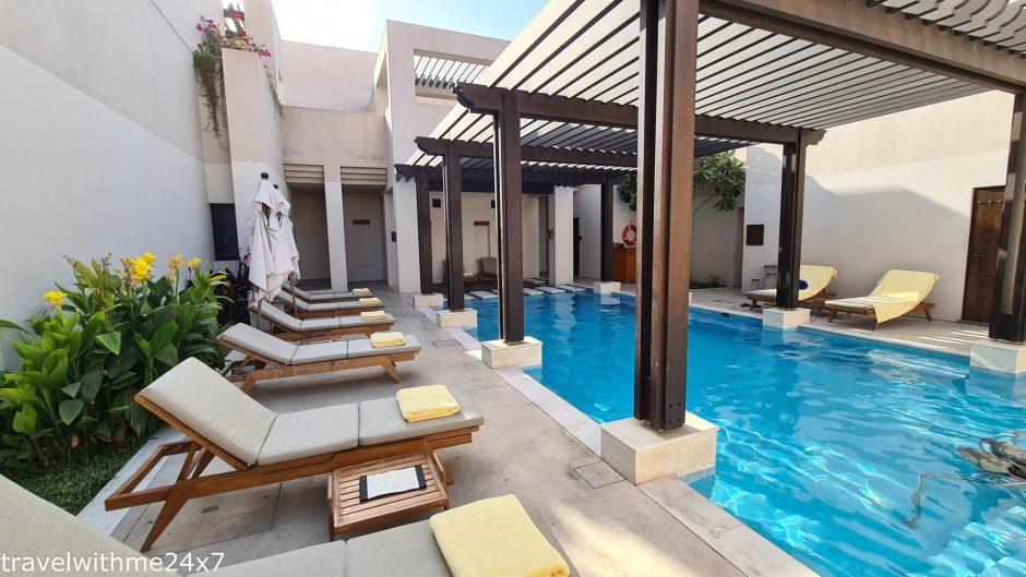 heritage hotel swimming pool in UAE