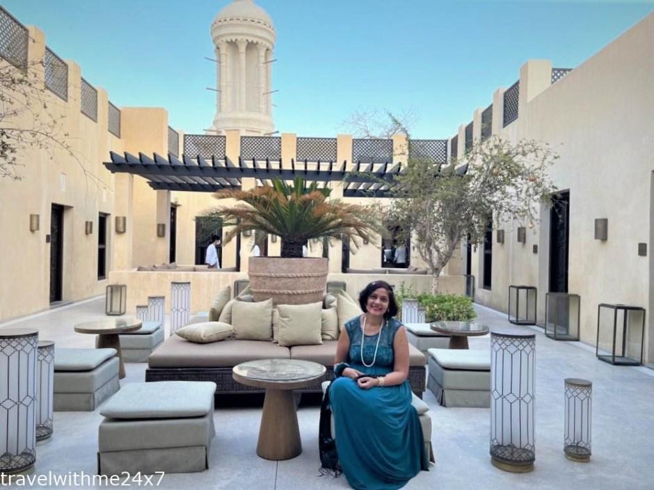Courtyard at The Chedi Al Bait Sharjah – Luxury Hotel in UAE