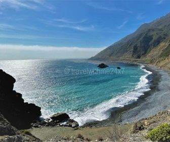 Pfeiffer beach near Big Sur - Beautiful & Prettiest beaches In California - Best Beaches In California