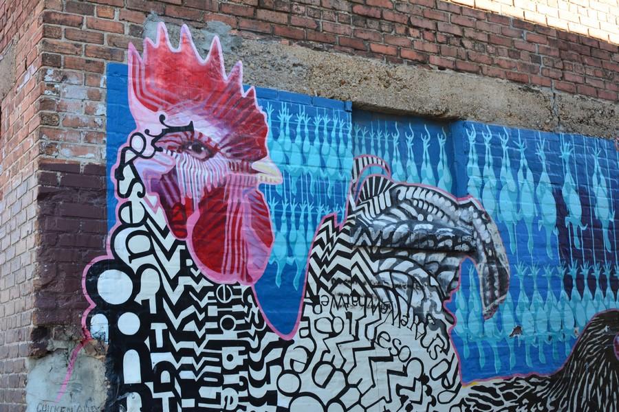 Art street 1 - Voyager en Caroline du Nord