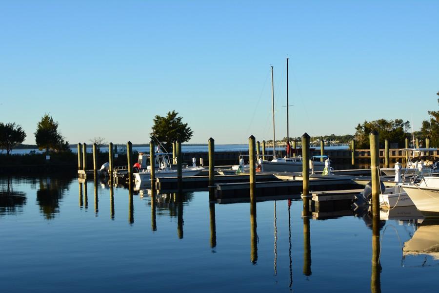 Marina Carolina Beach State Park Caroline du Nord
