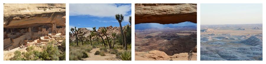 Voyage Etats-Unis dans les déserts