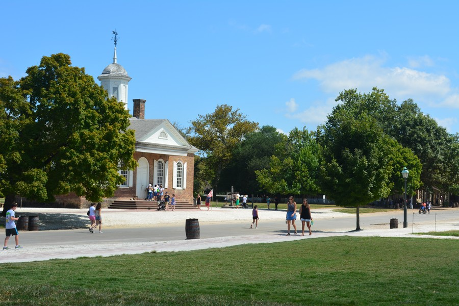 Place Williamsburg Virginie