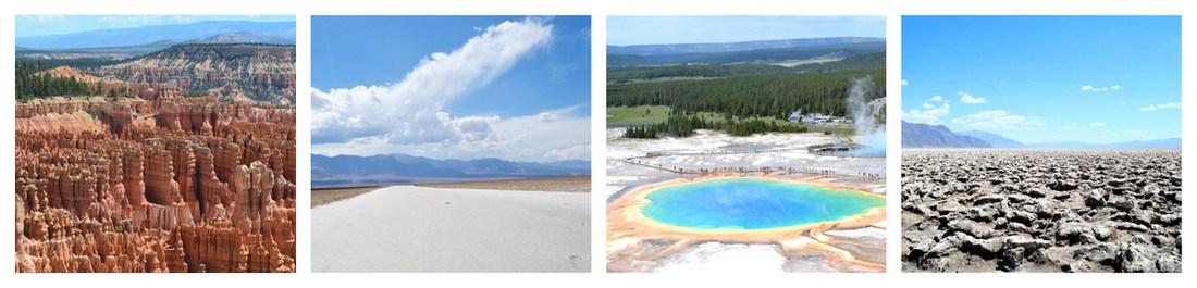 De Bryce canyon à Death Valley sans oublier le Yellowstone