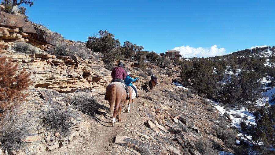 Balade à cheval Colorado
