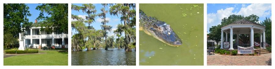 Montage Louisiane 3 - Que voir en Louisiane