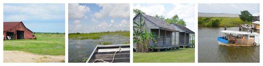 Montage Louisiane 4 - Que voir en Louisiane