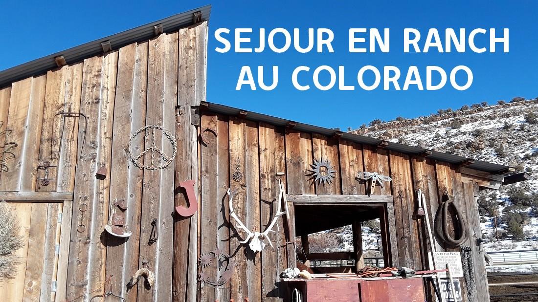 séjour en ranch - Inscription Ranch Colorado