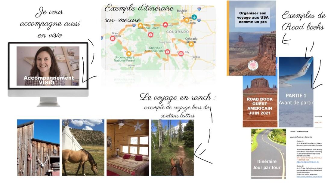 Visuels exemples - Travel planner & coach du voyage aux Etats-Unis