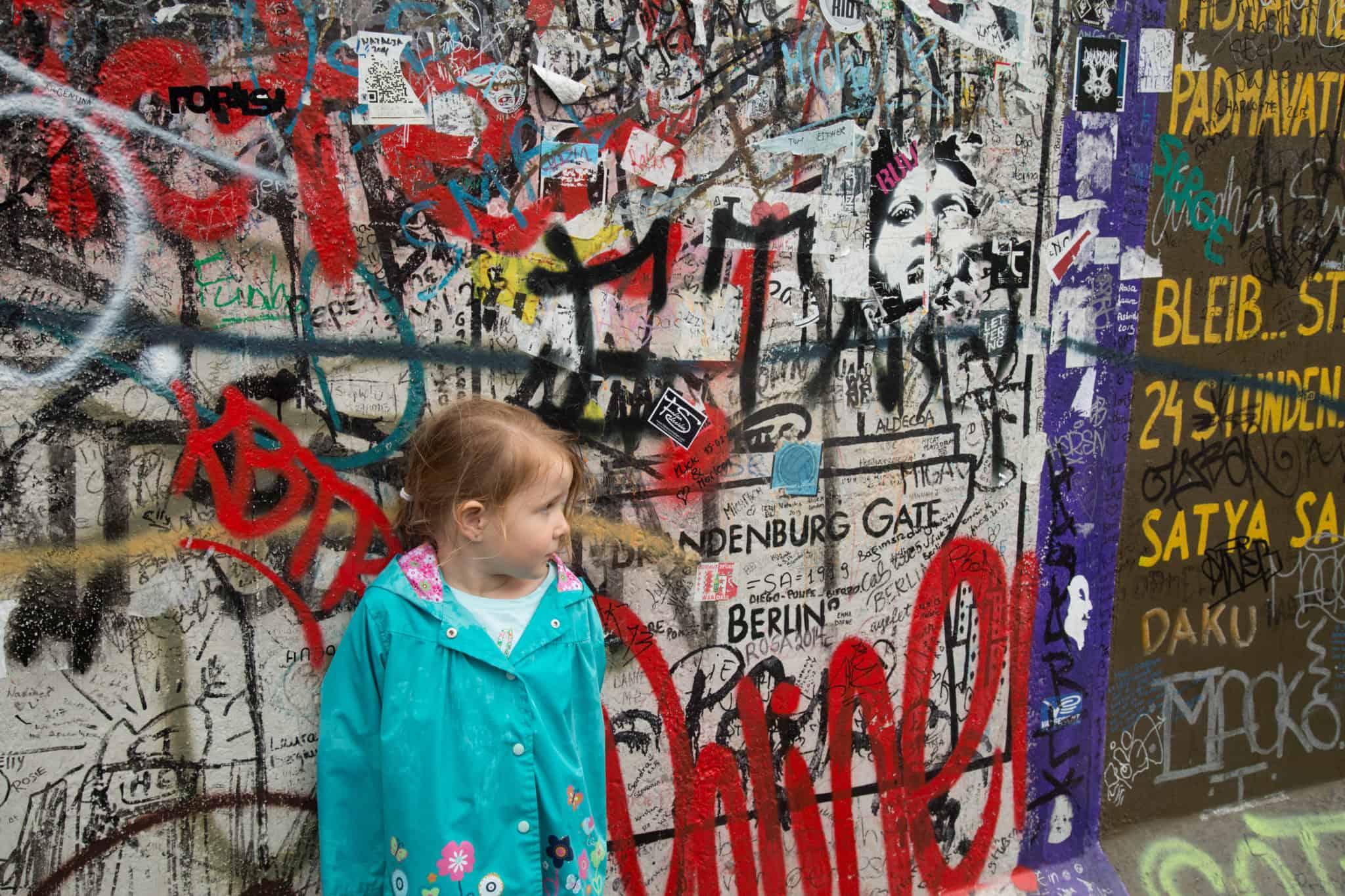 TravelwithMeraki- Travel with kids - Berlin Wall - Berlin - Germany