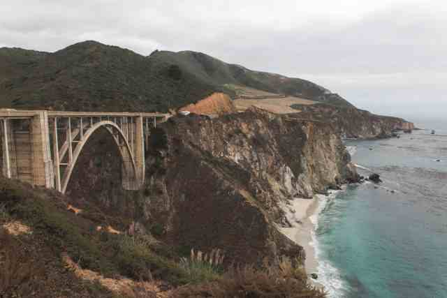 Bixby Bridge - Big Sur - Higway 1 - California - USA - CA