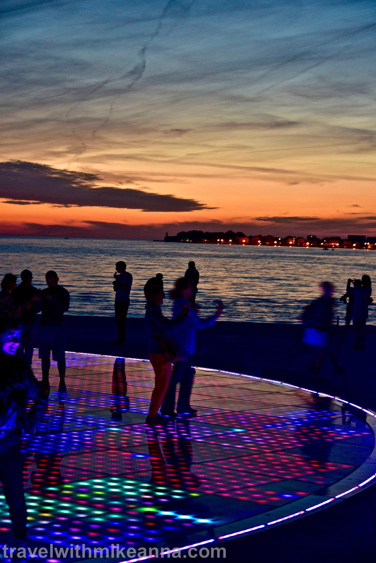 Croatia Zadar Sunset travel photography 克羅埃西亞 歐洲最美夕陽Zadar 古城 夕陽 攝影