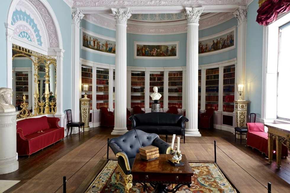 Kenwood house內的圖書室