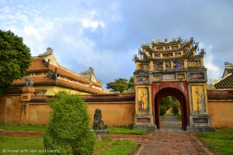 The Imperial City of Hue, Vietnam