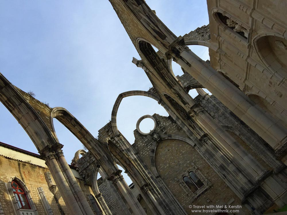 The Convento do Carmo in Lisbon, Portugal