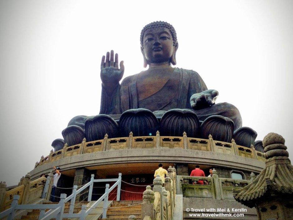 Tian Tan Buddha, Lantau Island, Hong Kong © TravelwithMK.com
