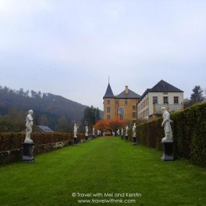 In the Gardens of the Grand Château d'Ansembourg, Luxembourg © Travelwithmk.com