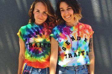 Lesbian travelers: Gabi and Shanna from 27 Travels