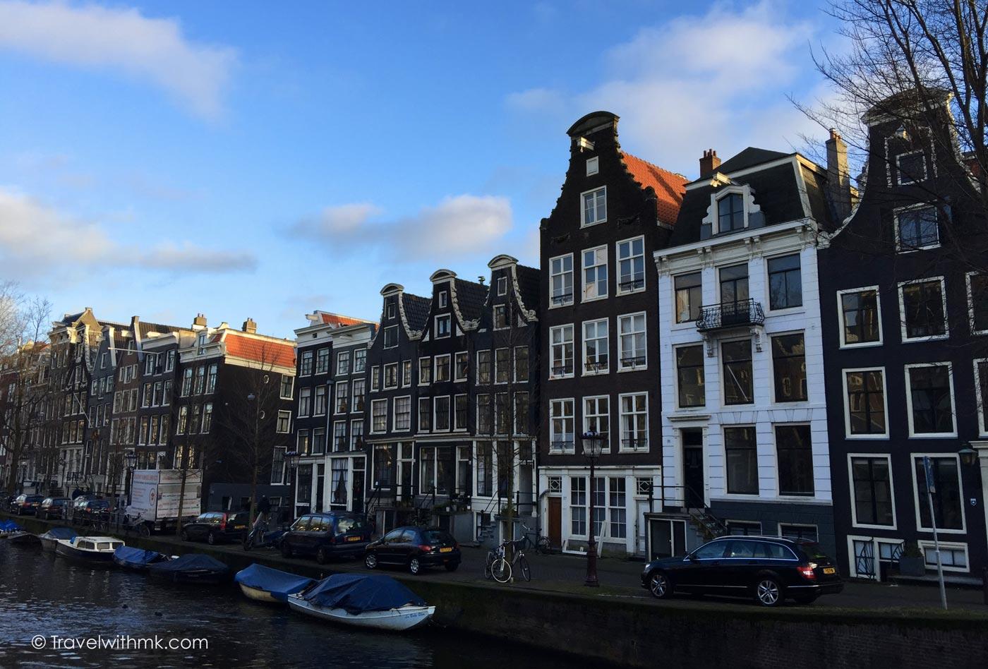 Strolling through Amsterdam © Travelwithmk.com