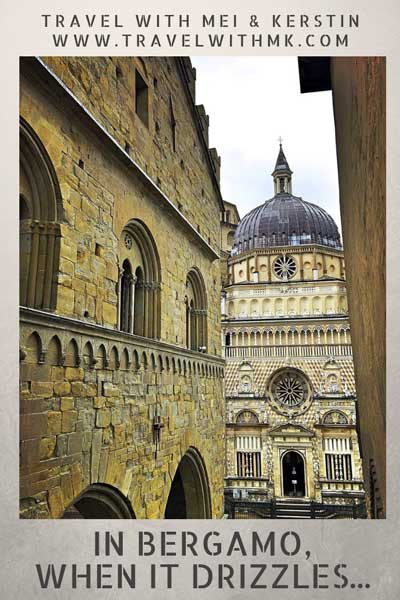 In Bergamo when it drizzles © Travelwithmk.com