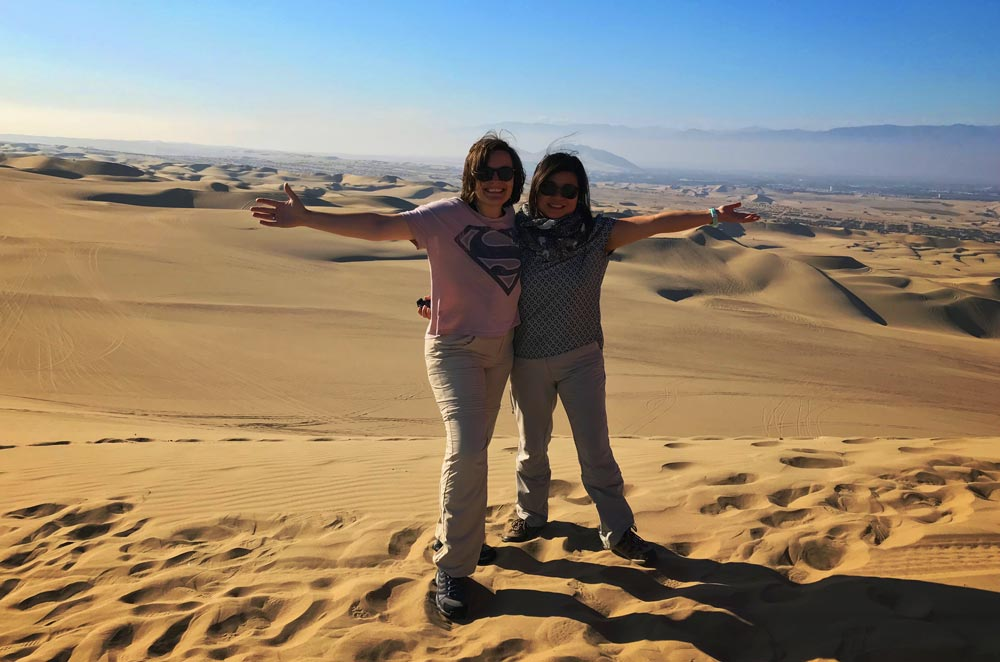 Golden Thrills in Huacachina, Peru • Travel with Mei and Kerstin