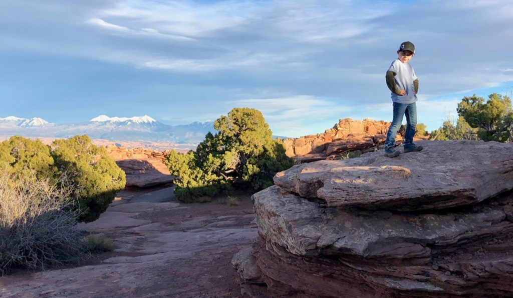dead horse point hiking