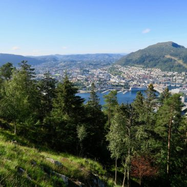 Bergen Tips: Taking Fløibanen up Mount Floyen With Kids