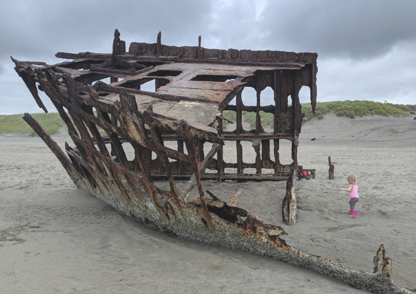 Peter Iredale Oregon Shipwreck