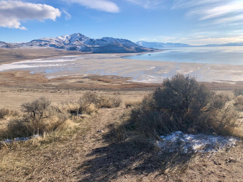 Bridger Bay Beach Antelope Island