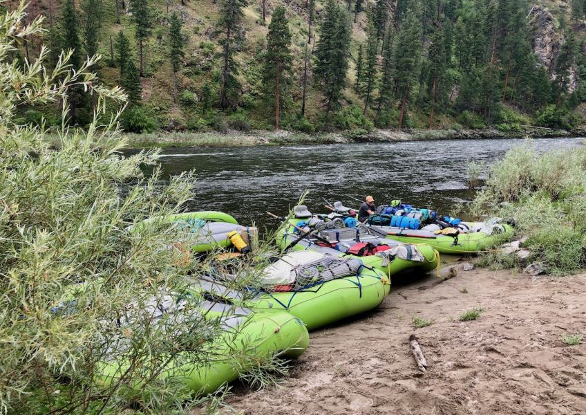 Family Whitewater Rafting Trip