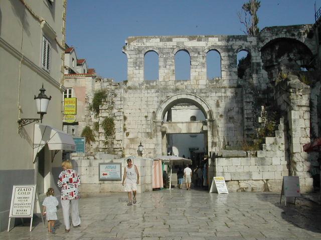 ארמון דיוקלטיאנוס בספליט, קרואטיה
