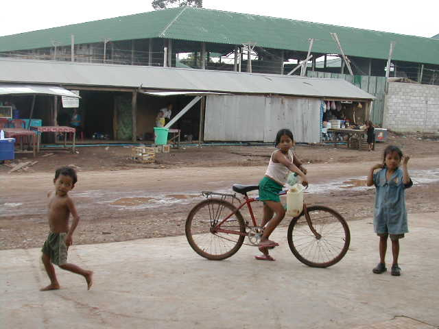 במעבר הגבול בין תאילנד לקמבודיה