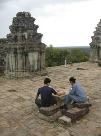 במקדשי אנגקור