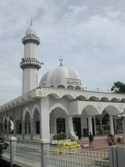 המסגד בכפר של בני הצ'אם בדלתת המקונג