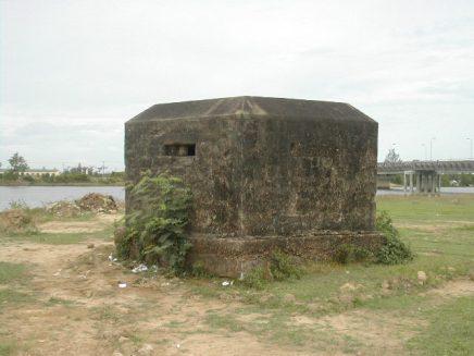 בונקר באזור המפורז בוייטנאם