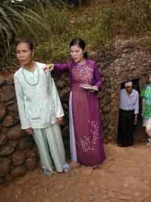 מחילות וין מוק באזור המפורז בוייטנאם