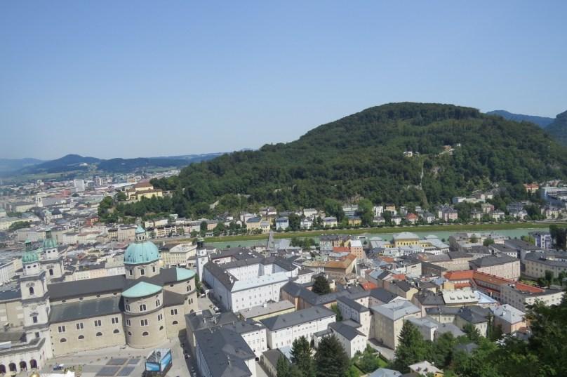 הנוף ממצודת זלצבורג
