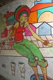 ציורי גרפיטי בשוק קמדן