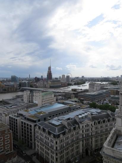 תצפית על לונדון מסנט פול