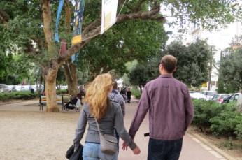 שדרות בן גוריון בתל אביב