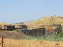 הגשר ההרוס על גבול ירדן