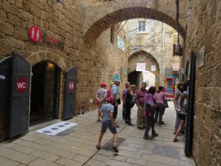 בכניסה למנהרת הטמפלרים