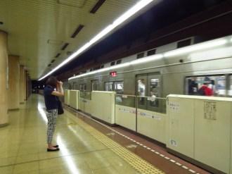 תחנת הרכבת התחתית בפוקואוקה