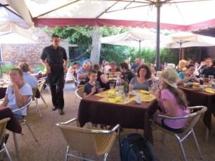במסעדת אוסטריה אל דואומו במוראנו