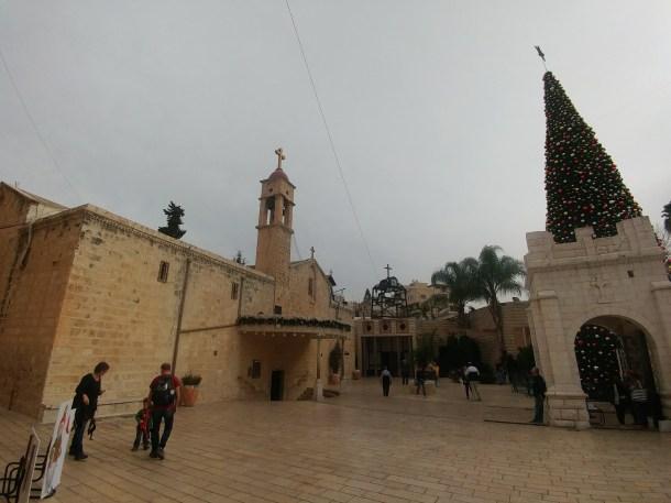 כנסיית הבשורה היוונית אורתודוכסית בנצרת