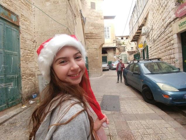 בנצרת העתיקה בחג המולד