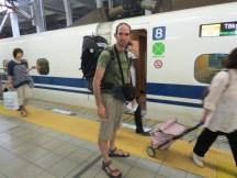 רכבת הקליע ביפן